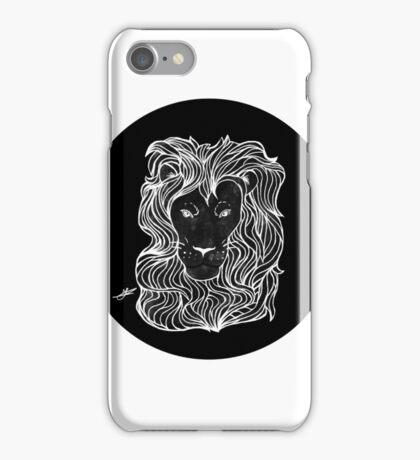 Inktober 2016 Day 2 - Lion iPhone Case/Skin