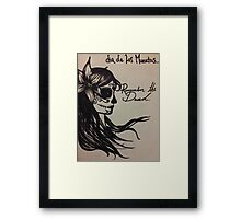 Remember The Dead Framed Print