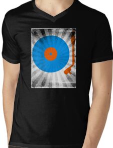 Vinyl Record Pop T-Shirt 2 Mens V-Neck T-Shirt