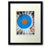 Vinyl Record Pop T-Shirt 2 Framed Print