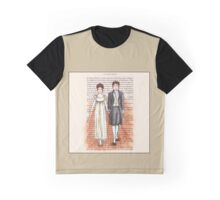 Elizabeth Bennet and Mr Darcy Graphic T-Shirt