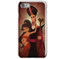 Seduced by evil iPhone Case/Skin