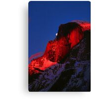 MOONRISE AND HALFDOME* Canvas Print