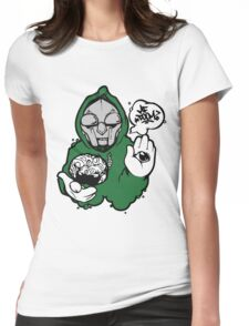 MF Doom - Rapper Womens Fitted T-Shirt