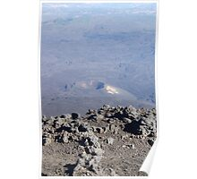 Century Crater - Mount Etna Poster