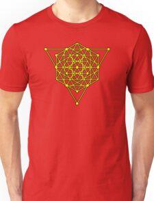 Sacred Geometry #1 (Yellow) Unisex T-Shirt