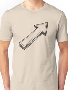 Up Arrow Unisex T-Shirt