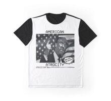 """American Atrocity"" Graphic Graphic T-Shirt"