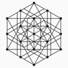 Sacred Geometry #2 (Black) by Eyeland Clothing