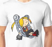 Trendy Girl Chain Swing Unisex T-Shirt