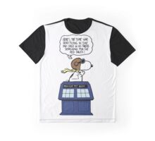 Snoopy and Dr Who Graphic T-Shirt
