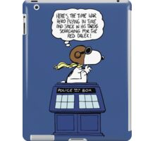 Snoopy and Dr Who iPad Case/Skin