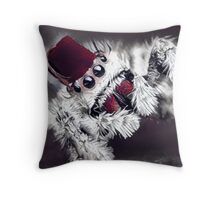 Itsy Bitsy Fez Throw Pillow