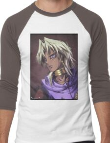 Marik Portrait Men's Baseball ¾ T-Shirt