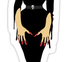 vampira fog Sticker