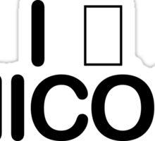 I □ Unicode Sticker