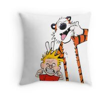 Calvin & Hobbes Throw Pillow