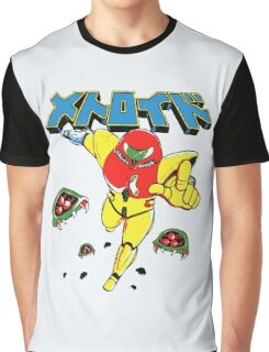 Metroid Japanese Promo Graphic T-Shirt