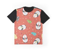 Wild bears with Christmas tree Graphic T-Shirt