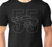 1955 Chevy Bel Air Coupe Unisex T-Shirt