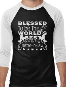 Blessed to be a Sister-In-Law Men's Baseball ¾ T-Shirt