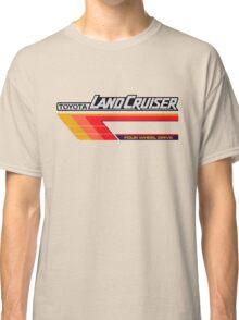 Land Cruiser body art series, red tri-stripe Classic T-Shirt