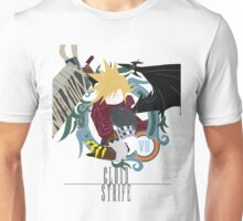 Cloud Strife Medal light-KHUX Unisex T-Shirt