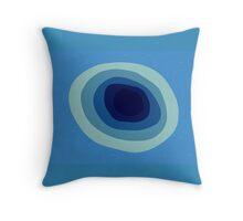 Blueberry print Throw Pillow