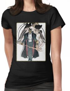 Ascension Art: Virtual Adepts M20 Womens Fitted T-Shirt