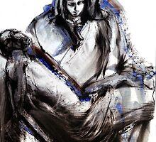 Pieta (after Michelangelo) by Leonie Chinn