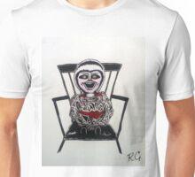 Creepy Annabelle Doll Unisex T-Shirt