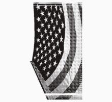 Black Flag 8bit One Piece - Short Sleeve