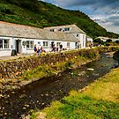 Boscastle before the storm by Lissywitch