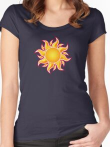 The Sun Women's Fitted Scoop T-Shirt
