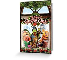 the muppet christmas carol Greeting Card