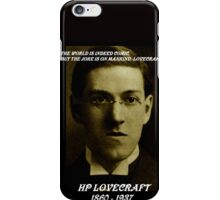 HP LOVECRAFT IN  MEMORY iPhone Case/Skin