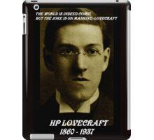 HP LOVECRAFT IN  MEMORY iPad Case/Skin