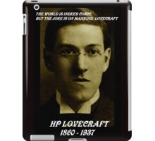 HP LOVECRAFT IN  MEMORY iPad Case/Skin