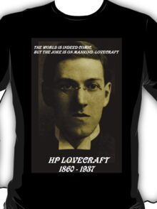 HP LOVECRAFT IN  MEMORY T-Shirt