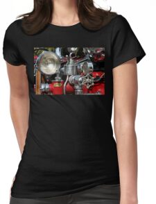 Old Fire Truck Womens Fitted T-Shirt