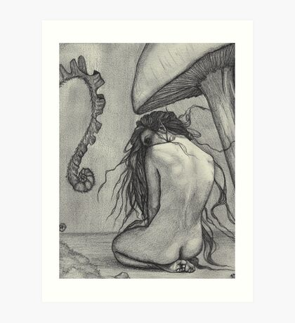 Shade - Fairy In The Forest Art Print
