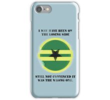 Losing Side - Browncoats iPhone Case/Skin