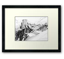 Dwarf Mountain Framed Print