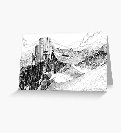 Dwarf Mountain Greeting Card