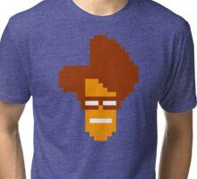 Moss' Head Sprite - The IT Crowd Tri-blend T-Shirt