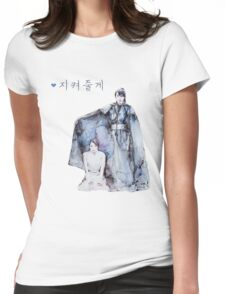 Moon Lovers - I will protect you Womens Fitted T-Shirt
