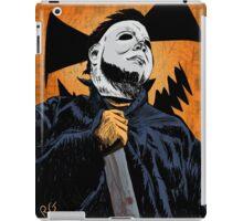 Masked Murderer Halloween iPad Case/Skin