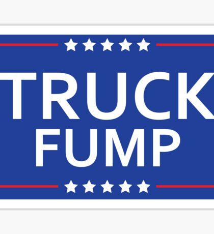 Truck Fump Sticker