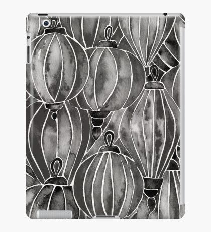 Black Vietnamese Lanterns iPad Case/Skin