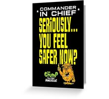 Commander-in-chief Greeting Card